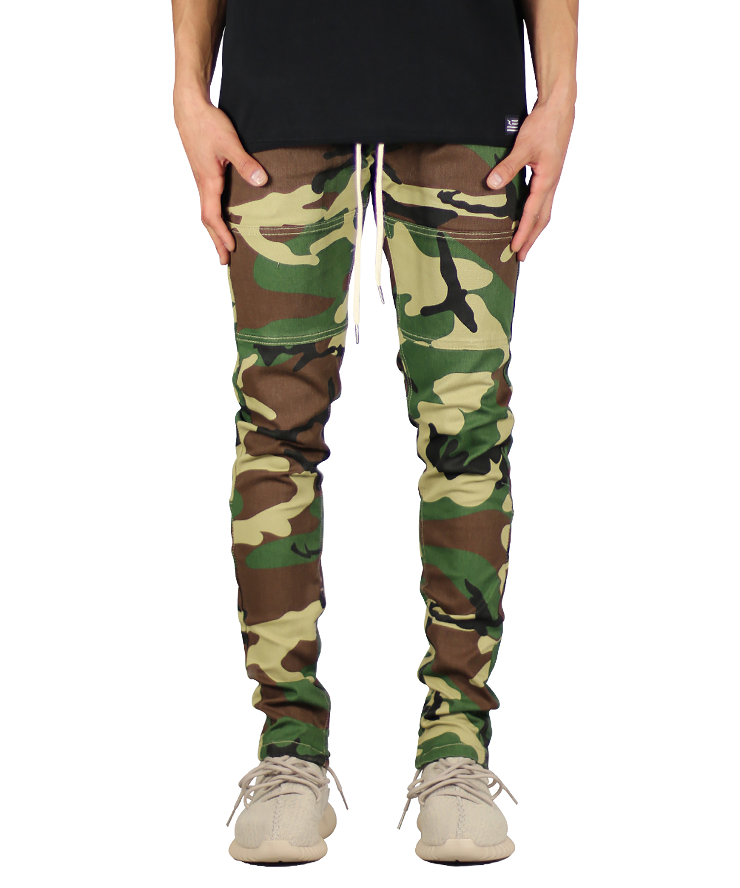 Woodland Camo Zipper Pant