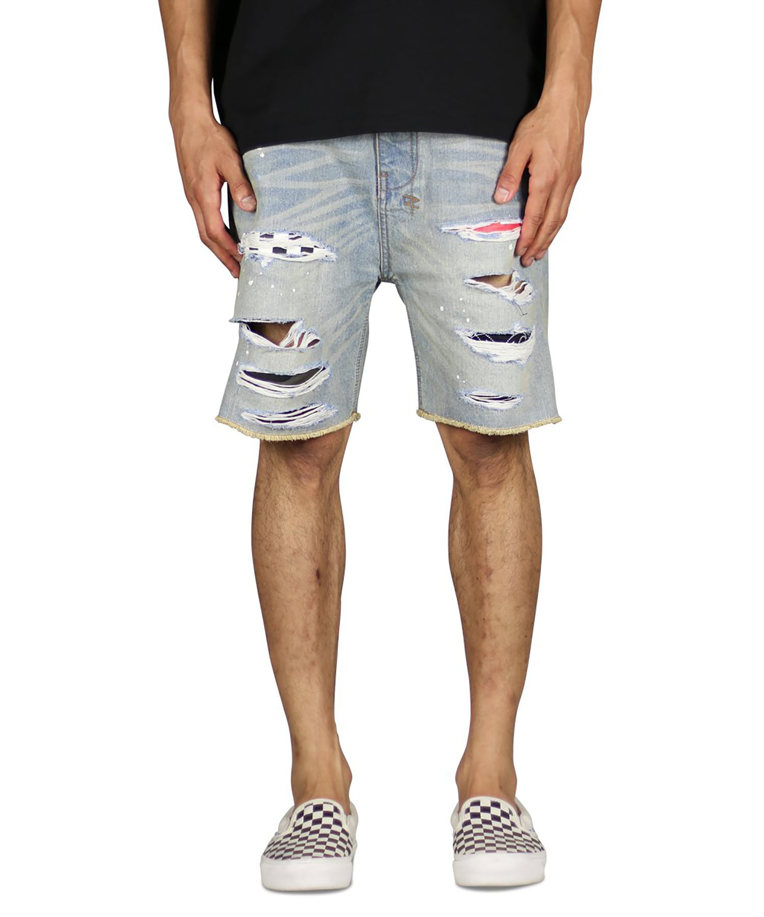 Indigo Patch Denim Short