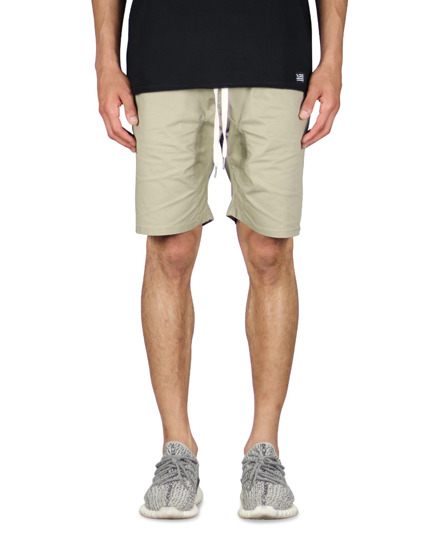 Khaki Drop Crotch Short